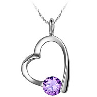 Ladies'/Women's Alloy Necklace Anniversary/Engagement/Birthday/Gift/Party/Daily/Causal/Office & Career/Outdoor Rhinestone