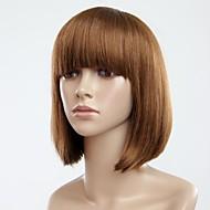 Fashion Hair Volledige Bang Bobo Kort steil haar pruik