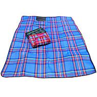 Boutique Fleece Check Pattern Outdoor Picnic Pad
