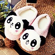 Cute Pink dejlige Panda Uld Kvinders Slide Slipper
