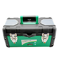 (45*22*19) Iron And Plastic Green Reinforced Handle Tool Boxes