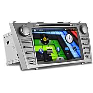 8inch 2 DIN in-dash bil dvd-spelare för Toyota Camry 2007-2011 med wifi, 3g, gps, bt, ipod, rds, pekskärm