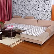 elaine bomuld kf tern bordure grå sofa pude 333727