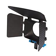 matte box yelangu® DP500 DSLR para 15 milímetros ferroviário rod suppot foco rig 60d 5DII