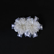 Women's/Flower Girl's Tulle/Silk Headpiece - Wedding/Special Occasion/Casual Flowers