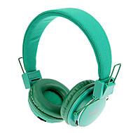 MRH-8809 de 3,5 mm estéreo plegable del auricular en la oreja con la función de TF / FM (Verde)