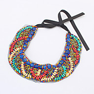 Necklace Statement Necklaces Jewelry Party / Daily / Casual Fashion Alloy / Acrylic / Silver Plated Silver 1pc Gift
