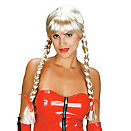 Fancy Ball Synthetic Party Wig Long Braids Wig(Sunny Blonde)