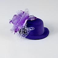 Tule/zijde Vrouwen/Bloemenmeisje Helm Bruiloft/Speciale gelegenheden/Casual Bloemen Bruiloft/Speciale gelegenheden/Casual