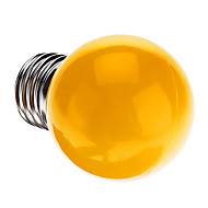 E26/E27 0.5 W 7 Dip LED 50 LM Yellow G Decorative Globe Bulbs AC 220-240 V
