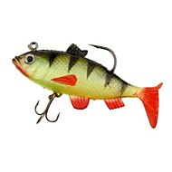 Silicone Soft Multi-section Fishing Lure Crank Bait