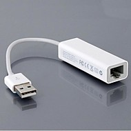 USB 2.0 Ethernet adaptador de rede de cabos para a Apple Win7 Mac OS X MacBook Air