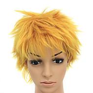 Capless Heat-resistant Blonde Costume Party Wig