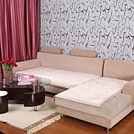 motif bordure de lotus de peluche elaine court canapé beige coussin 333561
