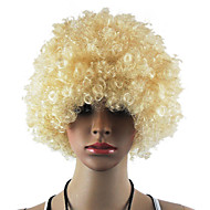 Musta Afro Wig Fanit Bulkness Cosplay Joulu Halloween Peruukki Kermanvärisiä Wig 1pc/lot