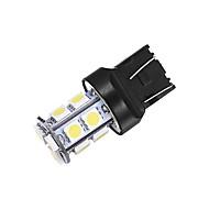 Merdia T20 5W 40ml 13x5050SMD הלבן אור LED לאור גיבוי רכב (זוג / 12V)