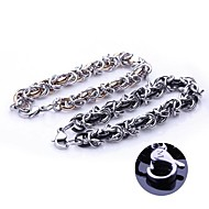 Fashion Personalized Gift  Handmade Stainless Steel Jewelry  Engraved Chain Link Bracelets 0.7cm Width