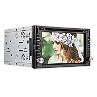 6.2inch Universal-2 DIN In-Dash Car DVD-Player mit GPS, BT, RDS, Touch-Screen-