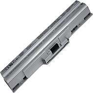 GoingPower 11.1V 4400mAh Laptop Battery for Sony Vaio VGN-CS90 VGN-FW VGN-FW20 VGN-FW40 VGN-FW80 series Silver