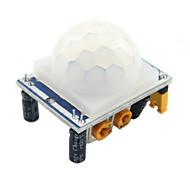 HC-SR501 infrarode pyro-elektrische bewegingssensor detectormodule, voor Arduino