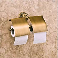 Toilet Paper Holder Antique Bronze Wall Mounted 31*7*13cm(12.2*2.75*5.11inch) Brass Antique