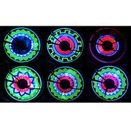 Eclairage de Vélo / bicyclette Éclairage pour roues de vélo LED - Cyclisme Etanche Résistant aux impacts AAA 400 Lumens Batterie Cyclisme-