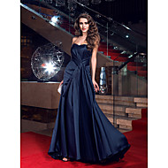 TS Couture® Formal Evening Dress - Sexy / Open Back / Elegant Plus Size / Petite Sheath / Column Sweetheart Sweep / Brush Train Satin