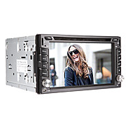 6.2 Inch 2-Din In-Dash Car DVD Player with GPS,BT,TV,Bluetooth,FM,iPod,Touch Screen