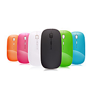 A100 2.4GHz Wireless Optical Mouse Super Slim Mini Adjustable DPI (Assorted Colors)