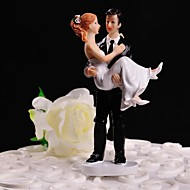 """Cake Toppers """" Groom Take Bride Up"""" Cake Topper"""