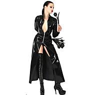 Dark Queen Black PU Leather Sexy Uniform