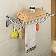 YALI.M®,Towel Bar Chrome Wall Mounted Stainless Steel / Zinc Alloy Contemporary