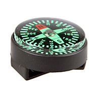 New Edition Professional Big Kompas met PU horloge Buckle - Zwart + Groen (10 PCS)