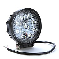 27W 9LED Work Light Fog lys til Jeep SUV ATV Off-road Truck