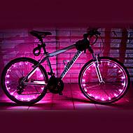 פנסי אופניים / אורות גלגל LED רכיבת אופניים עמיד למים AA Lumens סוללה רכיבה על אופניים-FJQXZ®