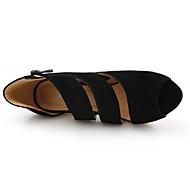 Women's Spring / Summer / Fall Platform Synthetic Dress Stiletto Heel Ribbon Tie Black