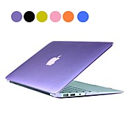 "Solid Color PC vanskelig sak med Crystal for MacBook Air 13 ""(assorterte farger)"