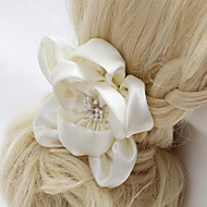 Women's/Flower Girl's Satin Headpiece - Wedding/Special Occasion/Outdoor Flowers