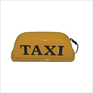Carking ™ Magnetic Base de Taxi Cab Telhado Entre Lamp Yellow Light-12V