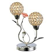 Lampes de table, 2 Lumière, simple cristal artistique MS-86379