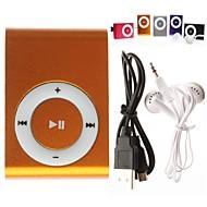 USD 5,95 € - Mini MP3-Player mit  Micro-SD-Karte, TF Karten Leser (verschiedene Farben)