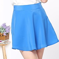 Rosas Mode™ Summer Bright Lines Pleated Skirts