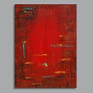 handmålade abstrakt oljemålning med sträckt ram redo att hänga