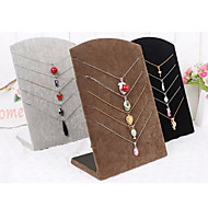 Jewelry Displays Flannelette / Paper Geometric Coffee / Black / Gray