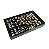 Classic One Hundred Sets Wing Jewelry Cover Stand Multicolor Paper Acrylic Flannelette Jewelry Boxes(1 Pc)