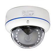 Cotier® 1.3 Megapixel CMOS WDR IR-Cut IP Dome Camera (Day Night Vision, Motion Detection)