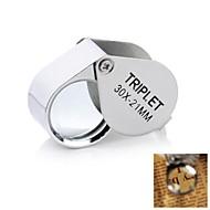 30x21mm Juweliere Lupe / Vergrößerungs