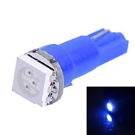 0.25W T5 14LM 1x5050SMD LED blått lys for bil Angi Dashboard Bredde Lamper (DC 12V 1stk)