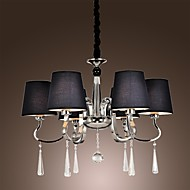 40 Chandelier ,  Modern/Contemporary Traditional/Classic Rustic/Lodge Vintage Island Chrome Feature for Candle Style MetalLiving Room