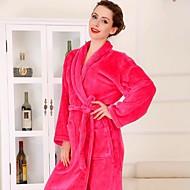 Bath Robe, High-class Red Pink Bear Garment Bathrobe Soft Thicken